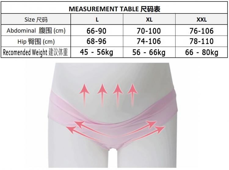 Panty size