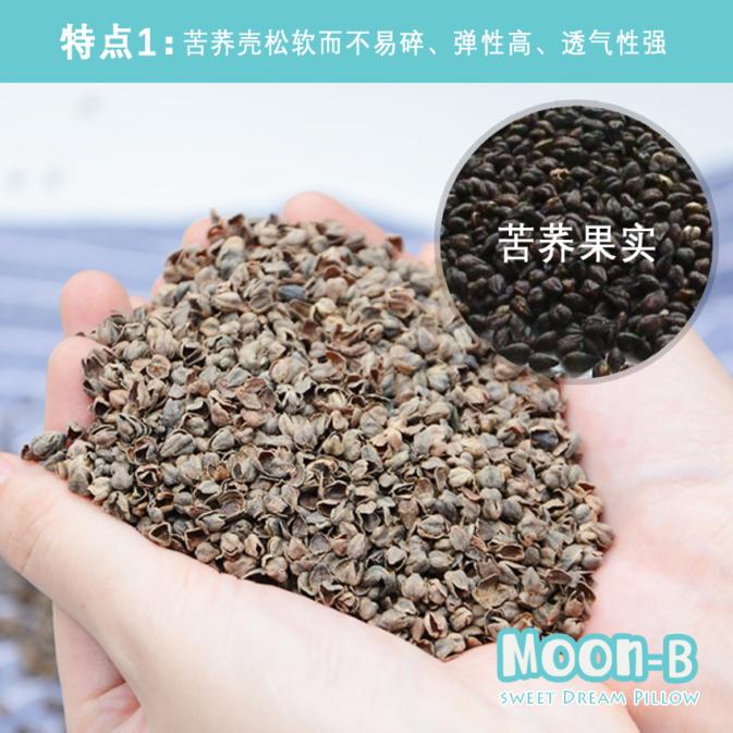 tartary buckwheat Moon-B Pillow