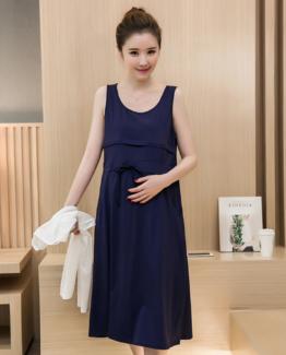 maternity breastfeeding dress